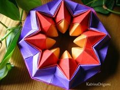 Origami ★ Magic Star ★ by Oriland - YouTube