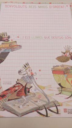 Carta a los Reyes de las Bibliotecas de Cataluña