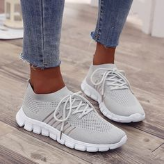 Opinionated Sneakers Women Walking Shoes Comfortable Lightweight Work Casual Workout Shoes Breathable Mesh Work Slip-on Sneakers, Sneakers Mode, Casual Sneakers, Sneakers Fashion, Casual Shoes, Fashion Shoes, Shoes Sneakers, Summer Sneakers, Work Casual, Casual Summer