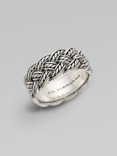 David Yurman Sterling Silver Ring - 0400131533215