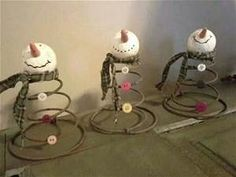 Made from old bed springs. | crafts | Pinterest