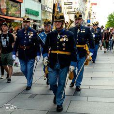 Austria, Anstatt, Juni, Captain Hat, Military, Hats, Empire, Trench, Concerts