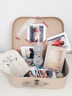Zelfgemaakt kraamcadeau: baby memory box - unicorns & fairytales