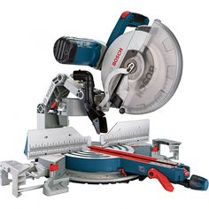 Bosch Tools Dual-Bevel Glide Miter Saw RT Business & Industrial Sliding Mitre Saw, Sliding Compound Miter Saw, Compound Mitre Saw, Woodworking Power Tools, Woodworking Saws, Learn Woodworking, Woodworking Ideas, Woodworking Store, Canadian Woodworking