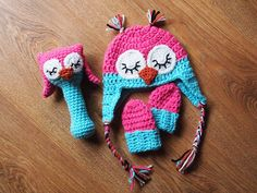 Baby girl owl set by ham_and_eggs, via Flickr
