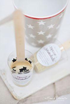geschenk aus der küche: selbstgemachte trinkschokolade | ★ lovely ... - Selbstgemachte Mitbringsel Aus Der Küche