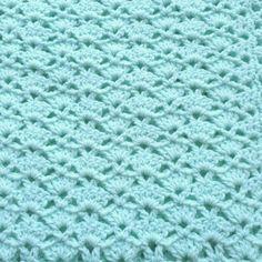 Crochet bebé manta de menta verde bebé manta de coche asiento