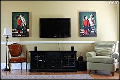 Wall Art Wednesday - Great Photo Art Ideas - LOVE @Laura Winslow - Try this in a Standout...can get on MPIX