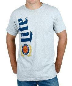 Miller Lite Side Text T-Shirt