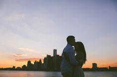 Flickr. Sunset. Engagement session.
