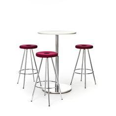 Drop Martela Drop, een stoel van PLAN@OFFICE ontworpen door Martela door Jukka Setälä.