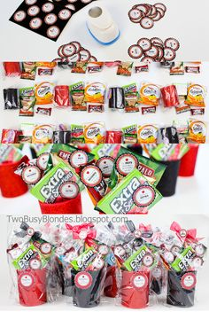 Teacher appreciation week/end of the year gift ideas. Cute sayings for candy and snacks.