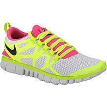 obnoxious and a bit ugly. yup, my next running shoe.