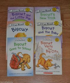 Biscuit Picture Book and Early Reader HUGE lot of 6, Homeschool, English