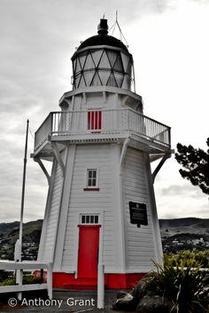 Lighthouse, Akaroa by Anthony Grant, via 500px