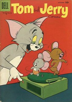 Tom And Jerry spin some tunes