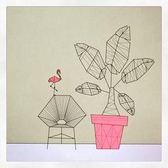 Summertime illustration at Pillah notebooks