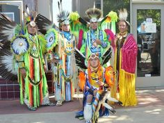 Members of the Winnemem Wintu prepare to dance at the Shasta County Historical Society's Indigenous People's Day celebration on Oct. 22 , 2017.