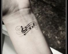 sheet music tattoo sleeve - Google Search More