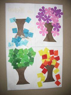 53 Best Seasons Preschool Theme images | Preschool ...