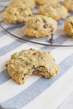 Oatmeal Raisin Chocolate Chip Walnut Cookies (Gluten-free)