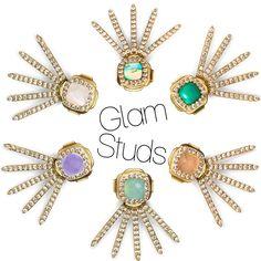 Best selling Melanie Auld Glam Studs!