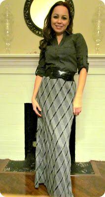 Etcetorize: Winter Maxi Skirt