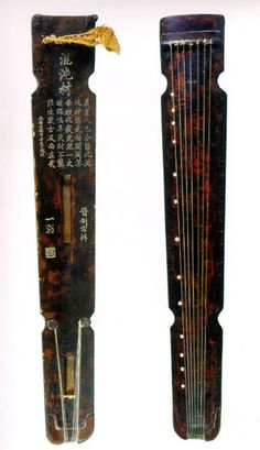 Guqin.  The Guqin, a seven-stringed zither, is the oldest Chinese string instrument with 3000 years of history.
