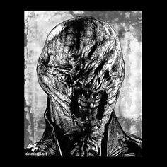 Print 8x10  Chatterer Hellraiser Cenobite Horror Dark by chuckhodi, $10.00