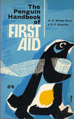 Penguin first edition handbook published in 1961. Cover design by Hans Unger