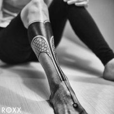 Tatuajes de tribales en la pierna para hombres fotos