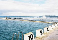 Newcastle and Merewether Ocean Baths. Photography: Jamieson Moore