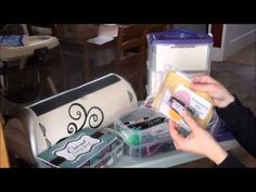 Episode 37 - How I Store My Cricut Cartridges Cricut Cuttlebug, Cricut Cartridges, Scrapbooking Layouts, Scrapbook Cards, Cricut Tutorials, Cricut Ideas, Cricut Help, Cricut Creations, Craft Gifts
