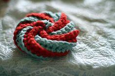 Ravelry: Tawashi pattern by Pierrot (Gosyo Co. Crochet Kitchen, Crochet Home, Love Crochet, Learn To Crochet, Beautiful Crochet, Knit Crochet, Ravelry Crochet, Knitting Patterns, Crochet Patterns