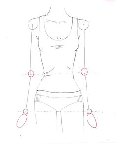 How to draw arms for fashion sketches