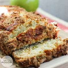 Apple Cheddar Quick Bread Recipe