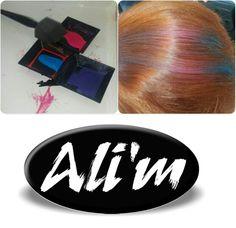 #alimkuaför #hairchalk #renklihalim #color #çilgınhalim  #hairchalk #lorealtr