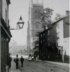 St Margaret's church from Churchgate.
