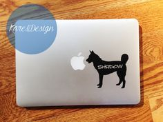Customizable Siberian Husky Vinyl Sticker Decal by KareAndDesign, $4.99