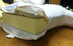 How to make a poly/down seat cushion, from CUSHION WORKS