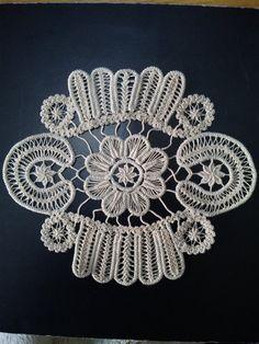 Crochet Needles, Crochet Stitches, Crochet Doilies, Crochet Lace, Romanian Lace, Creative Embroidery, Point Lace, Needle Lace, Irish Lace