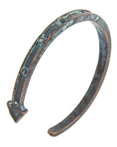 Patina Metal / Lead&nickel Compliant / Arrow / Cuff / Bracelet