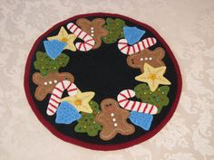 Pattern Vintage Christmas Cookies Christmas by betsyloupatterns