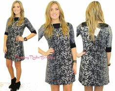 First Class Print Dress