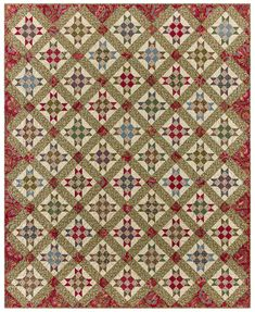 Anna Ella from Red Crinoline Quilts Antique Quilts, Quilt Patterns, Applique, Scrap, Baltimore House, Sewing, Antiques, Anna, Quilting