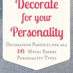 What is your Personality Type? Introducing a New Series
