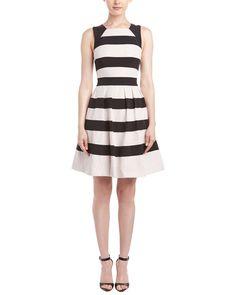 Spotted this Karen Millen Lace-Striped A-Line Dress on Rue La La. Shop (quickly!).