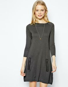Asos Swing Dress in Knit