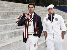ralph lauren designed the olympic uniforms??? AMAZING.