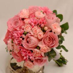 Brides bouquet #weddings. Pink.